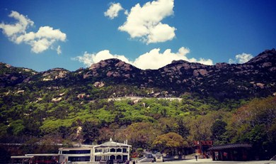 巨峰游览区必游景点-青岛崂山风景区(天上人间 海上