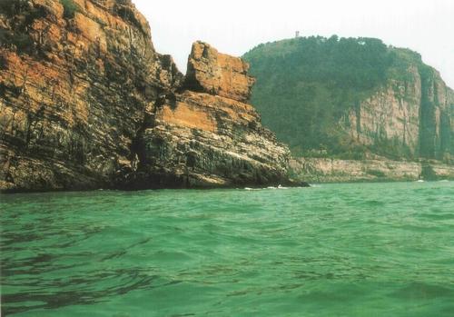 轮船石|图游崂山 - 青岛崂山风景区(天上人间 海上