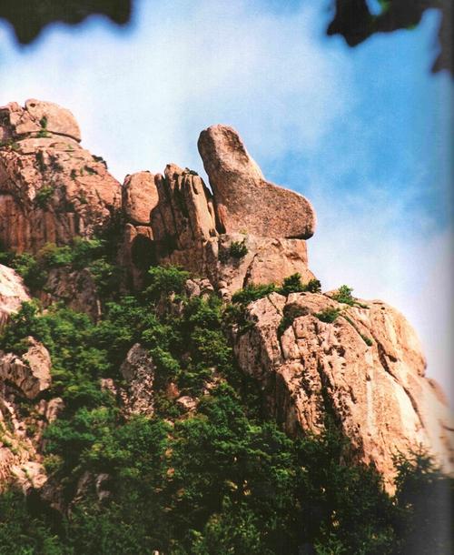 靴子石|图游崂山 - 青岛崂山风景区(天上人间 海上