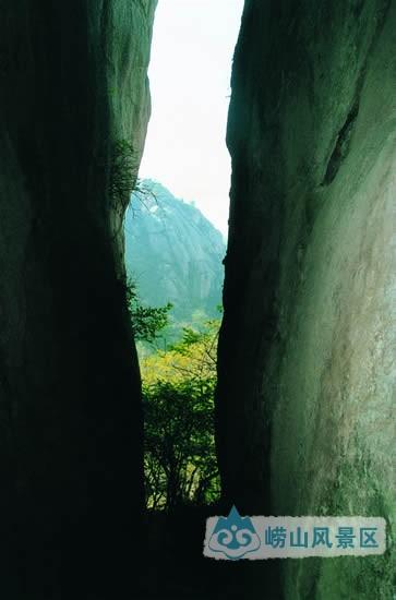 一线天|图游崂山 - 青岛崂山风景区
